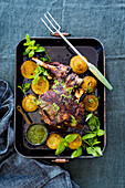 Easter Lamb Roast with Herbs