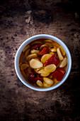 Garlic and Chilli in Vinegar