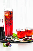 Berry Shrub Drink