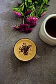 Goldene Milch mit Mandelmilch (Indien)