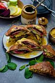 Bombay sandwiches (India)