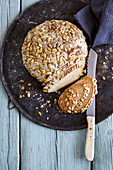 Pumpkin bread with almonds (low carb)