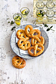 Lye pretzels (low carb)