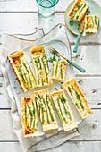 Asparagus-quiche