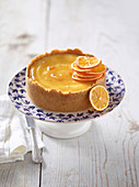 Cheesecake with marmalade