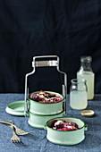 Beetroot salad with Parmesan and homemade lemonade
