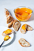 Rouille with baguette