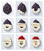 How to make Santa Claus Cupcake