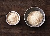 Die richtige Menge Reis als Beilage oder Reisgericht