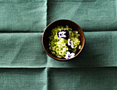 Mint fresh cucumber chutney