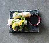 Vegan Thai summer rolls