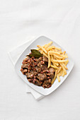 Flemish carbonade with french fries