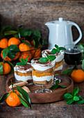 Tangerine tiramisu