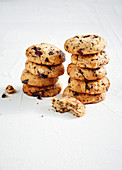 Refined sugar-free chocolate chip cookies