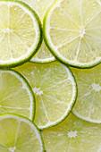 Lime slices (full frame)