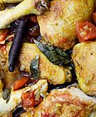 Braised chicken curry (Sri Lanka)