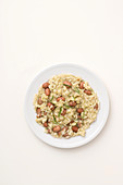 Bean risotto with endive