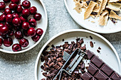 Ingredients for Black Forest Gateau