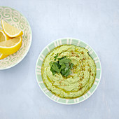 Chickpea and parsley hummus