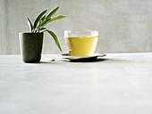 Ginger and sage tea