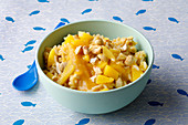 Fruit rice with mango (from 10 months)