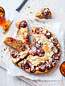 Oat and Plum Tea Cake