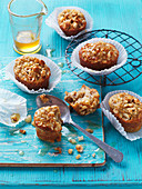 Little Pear and Hazelnut Cakes