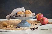 Apple Carambar muffins