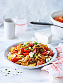 Chilli Paprika Pasta with Fresh Tomato Sauce