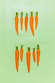 Several carrots