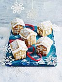 Mini Gingerbread Houses (Gluten-Free )