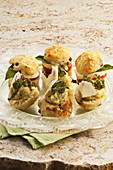 Savoury scones with parmesan butter