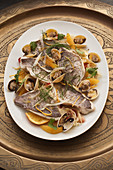 Fennel and citrus roasted fish