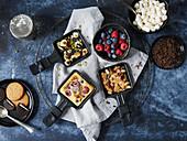 Sweet raclette pancakes