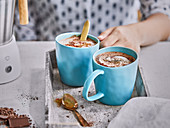 Hot spiced chocolate (Mexico)