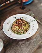 Mujaddara (Reis mit Linsen und karamellisierten Zwiebeln, Arabien)