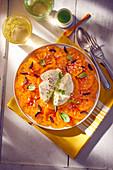 Tomaten-Carpaccio mit Burrata