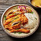 Chicken Katsu Curry with rice (Japan)