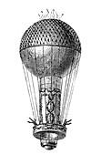 Montgolfier Balloon, Pilatre de Rozier, 1780s