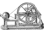 Nollet's Static Electric Machine