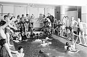 Newsboys Swimming, 1900s