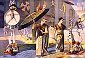 Twelve Asian Acrobats, 1891