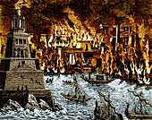 Burning of the Royal Library of Alexandria