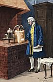 Antoine-Laurent Lavoisier, French Chemist