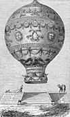 Montgolfier Balloon, De Rozir and d'Arlandes, 1783