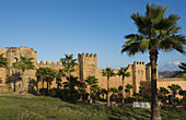Kasbah Udayas at Sunset, Morocco
