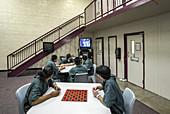 Day Room of Juvenile Detention Center
