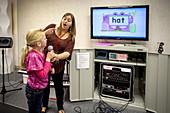 Teaching Speech to Deaf Child