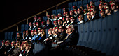 Audience at 3D IMAX Film
