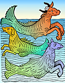 Legendary Sea Creatures, 15th Century